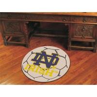 Notre Dame Soccer Ball Rug