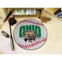 Ohio University Baseball Rug