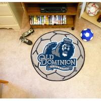 Old Dominion University Soccer Ball Rug