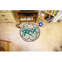 Slippery Rock University Soccer Ball Rug