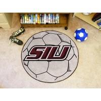 Southern Illinois University Soccer Ball Rug