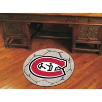 St. Cloud State University Soccer Ball Rug