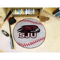 St. Josephs University Baseball Rug