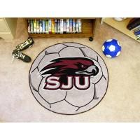 St. Josephs University Soccer Ball Rug