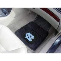 UNC University of North Carolina - Chapel Hill Heavy Duty 2-Piece Vinyl Car Mats