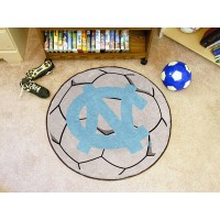 UNC University of North Carolina - Chapel Hill Soccer Ball Rug