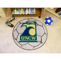 UNC University of North Carolina - Wilmington Soccer Ball Rug