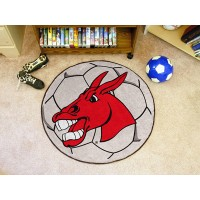 University of Central Missouri Soccer Ball Rug