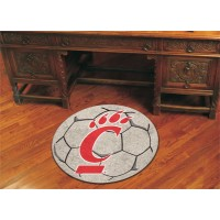 University of Cincinnati Soccer Ball Rug