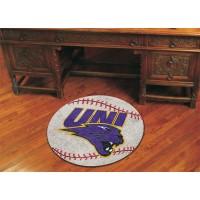 University of Northern Iowa Baseball Rug