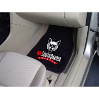 University of South Dakota 2 Piece Front Car Mats