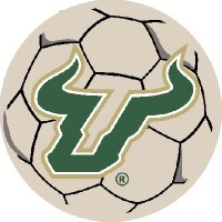 University of South Florida Soccer Ball Rug