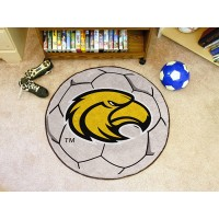 University of Southern Mississippi Soccer Ball Rug