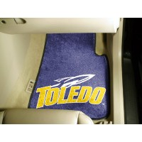 University of Toledo 2 Piece Front Car Mats