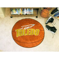 University of Toledo Basketball Rug