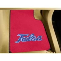University of Tulsa 2 Piece Front Car Mats
