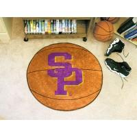 University Of Wisconsin-Stevens Point Basketball Rug