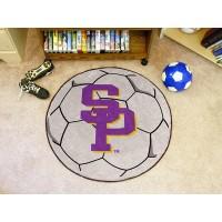 University Of Wisconsin-Stevens Point Soccer Ball Rug