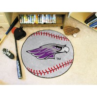 University Of Wisconsin-Whitewater Baseball Rug