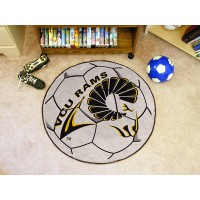 Virginia Commonwealth University Soccer Ball Rug