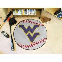 West Virginia University Baseball Rug