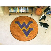 West Virginia University Basketball Rug