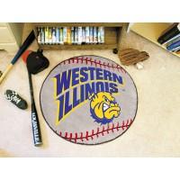 Western Illinois University Baseball Rug