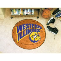 Western Illinois University Basketball Rug