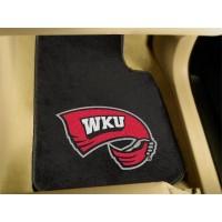 Western Kentucky University 2 Piece Front Car Mats