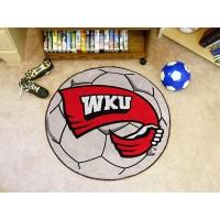 Western Kentucky University Soccer Ball Rug