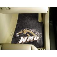 Western Michigan University 2 Piece Front Car Mats