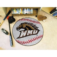 Western Michigan University Baseball Rug