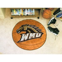 Western Michigan University Basketball Rug