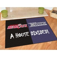 Xavier/Cincinnati All-Star House Divided Rug