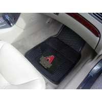 MLB - Arizona Diamondbacks Heavy Duty 2-Piece Vinyl Car Mats