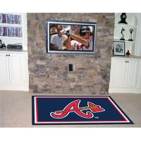 MLB - Atlanta Braves  5 x 8 Rug