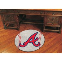 MLB - Atlanta Braves Baseball Rug