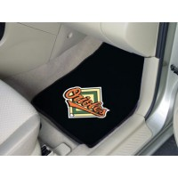 MLB - Baltimore Orioles 2 Piece Front Car Mats
