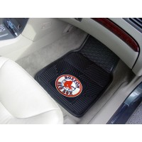 MLB - Boston Red Sox Heavy Duty 2-Piece Vinyl Car Mats