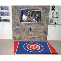 MLB - Chicago Cubs  5 x 8 Rug