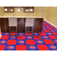 MLB - Chicago Cubs Carpet Tiles