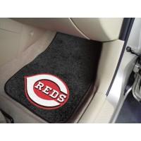 MLB - Cincinnati Reds 2 Piece Front Car Mats