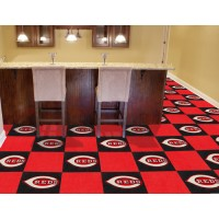 MLB - Cincinnati Reds Carpet Tiles