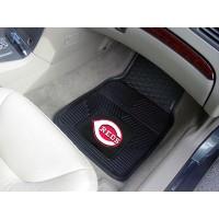 MLB - Cincinnati Reds Heavy Duty 2-Piece Vinyl Car Mats