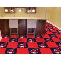 MLB - Cleveland Indians Carpet Tiles