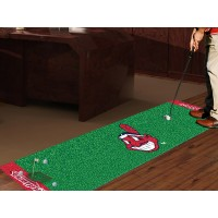 MLB - Cleveland Indians Golf Putting Green Mat