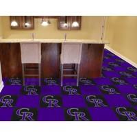 MLB - Colorado Rockies Carpet Tiles
