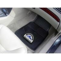 MLB - Colorado Rockies Heavy Duty 2-Piece Vinyl Car Mats