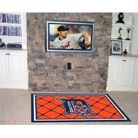 MLB - Detroit Tigers 4 x 6 Rug