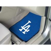 MLB - Los Angeles Dodgers 2 Piece Front Car Mats